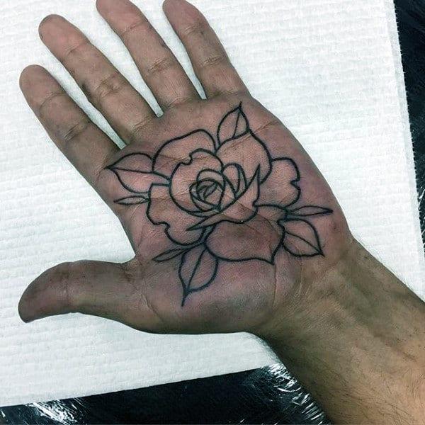 100 palm tattoo designs for men inner hand ink ideas. Black Bedroom Furniture Sets. Home Design Ideas