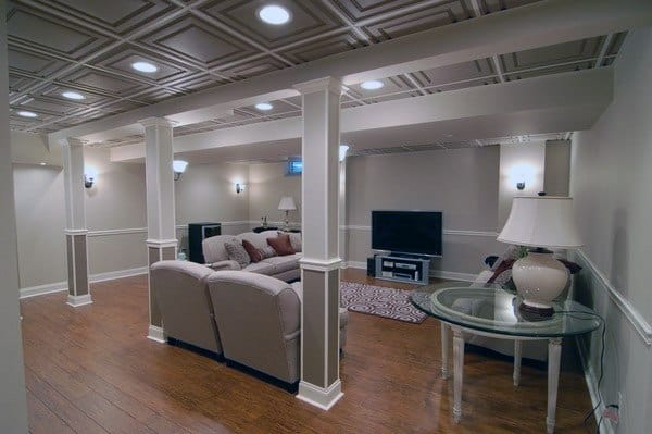 Low Basement Ceiling Ideas
