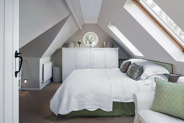Low Ceiling Attic Bedroom