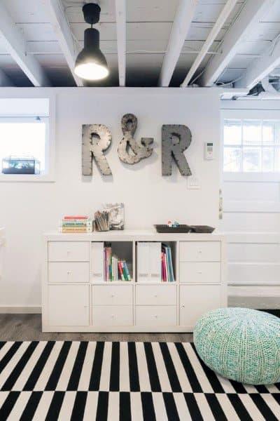 Low Ceiling Basement Ideas
