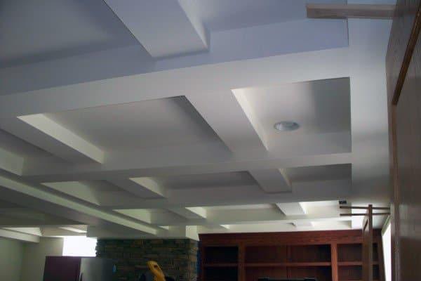 Low Ceiling Ideas Basement
