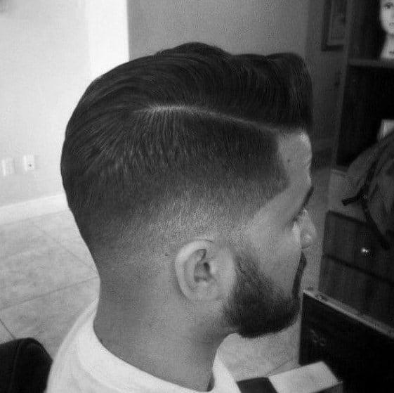 Low Fade Hair Comb Over For Men