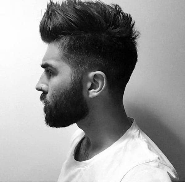 Low Fade Haircut Designs For Guys