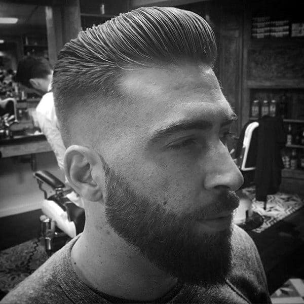 Low Skin Fade Haircut For Men