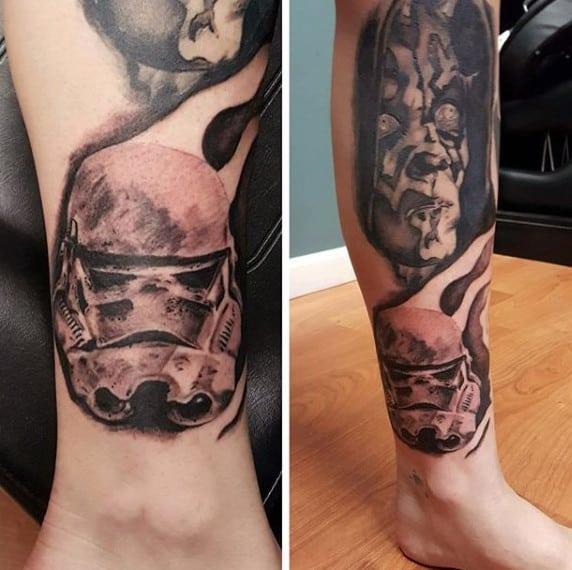 100 Stormtrooper Tattoo Designs For Men - Star Wars Ink Ideas
