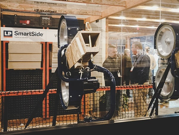 Lp Smartside Impact Resistant Siding Display 2019 Nahb Show