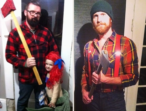 lumberjack best sexy mens halloween costume ideas