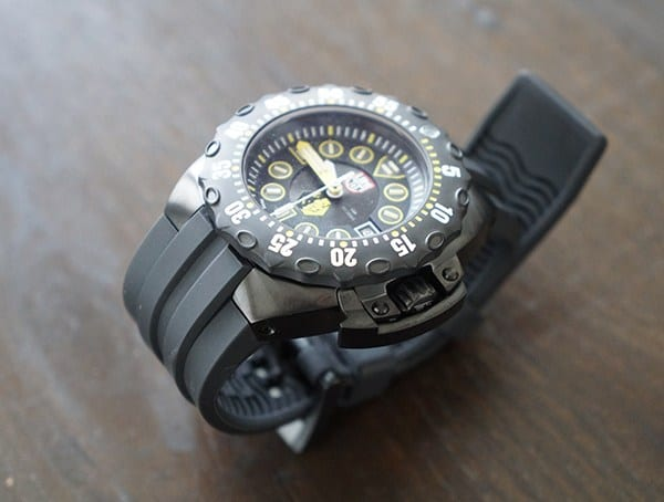 Luminox Scott Cassell Deep Dive Special Edition Mens Watches Black