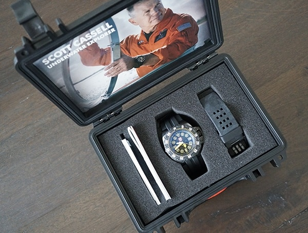 Luminox Scott Cassell Deep Dive Special Edition Watch Case