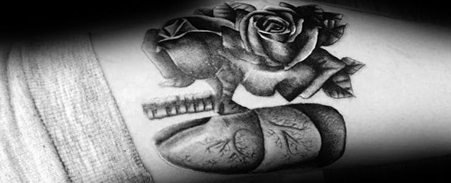 Lung Tattoo Designs For Men