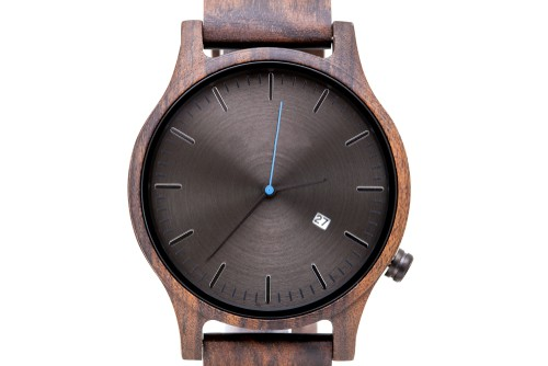 Lux Woods Glen Black Chanate Wood Watches For Men