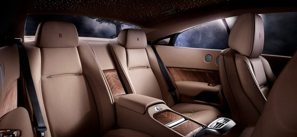 Luxury 2014 Rolls Royce Wraith Interior