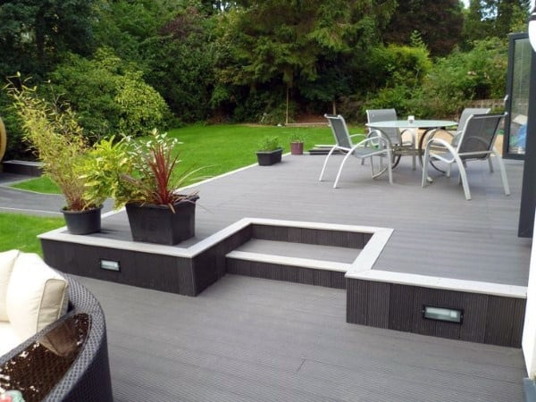 Luxury Backyard Deck Designs