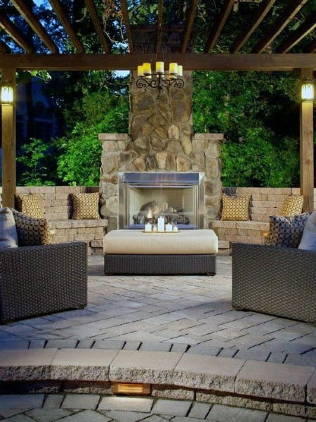 Luxury Backyard Pavilion Ideas