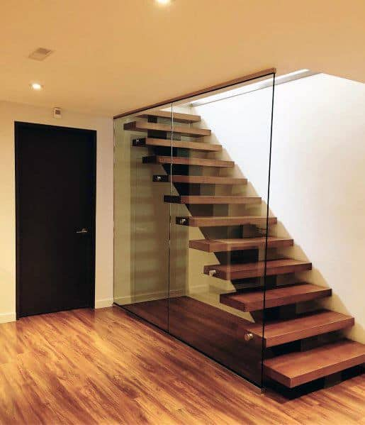 Luxury Basement Stairs Ideas Modern Floating Steps