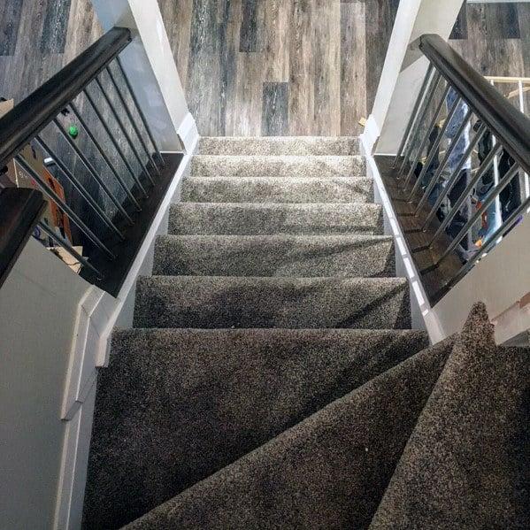 Luxury Basement Stairs