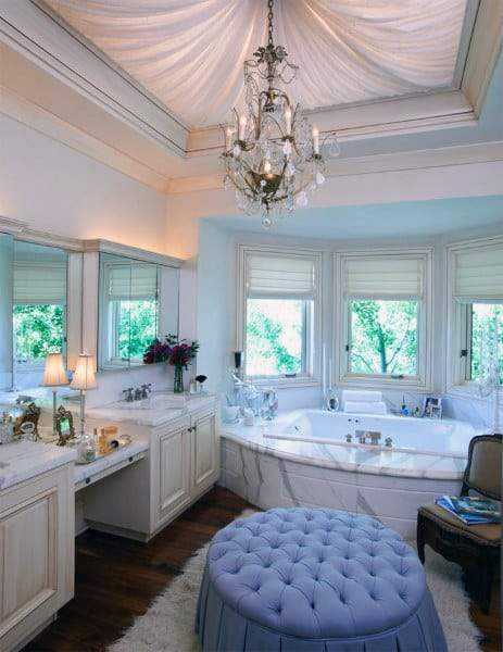 Luxury Bathroom Ceiling Lighting Ideas