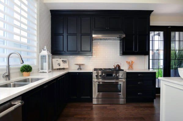 Luxury Black Kitchen Cabinet Ideas