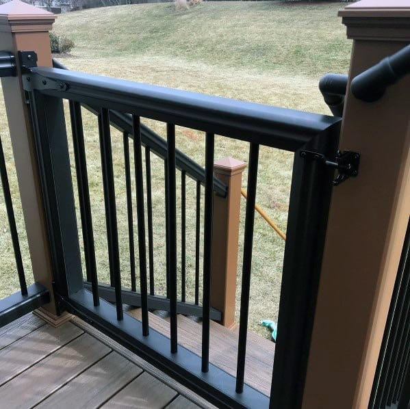 Top 50 Best Deck Gate Ideas Backyard