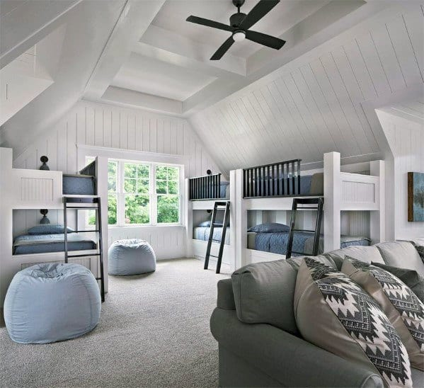 Luxury Bonus Room Ideas With Bunk Beds
