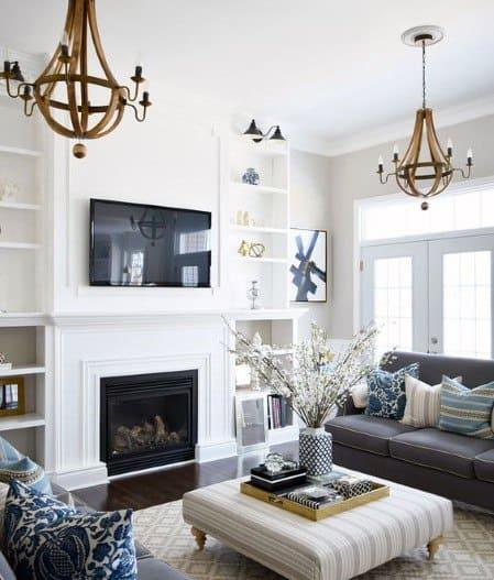 Luxury Built In Bookcase Ideas