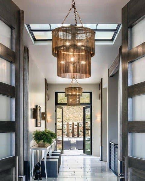 Luxury Chandeliers Home Ideas Hallway Lighting