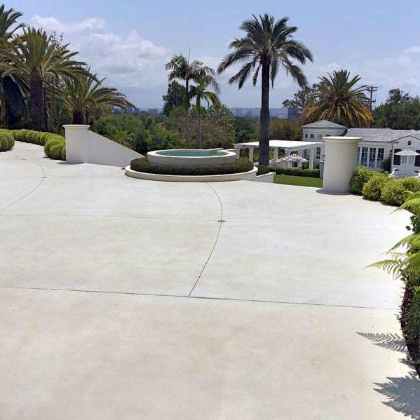 Luxury Concrete Driveway