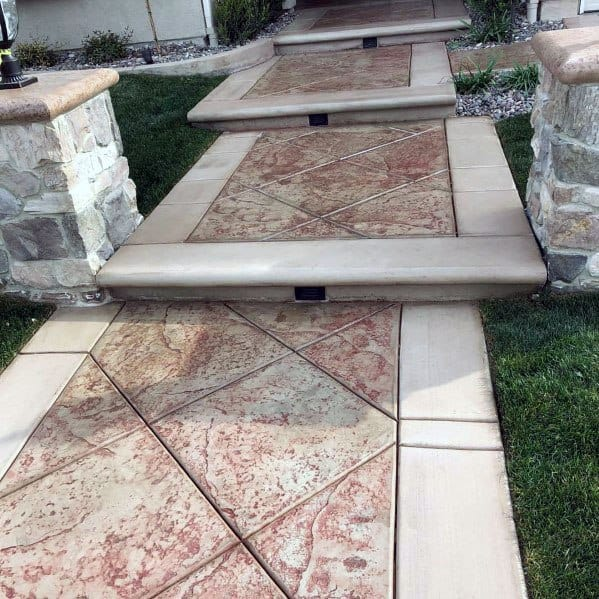 Luxury Concrete Walkway
