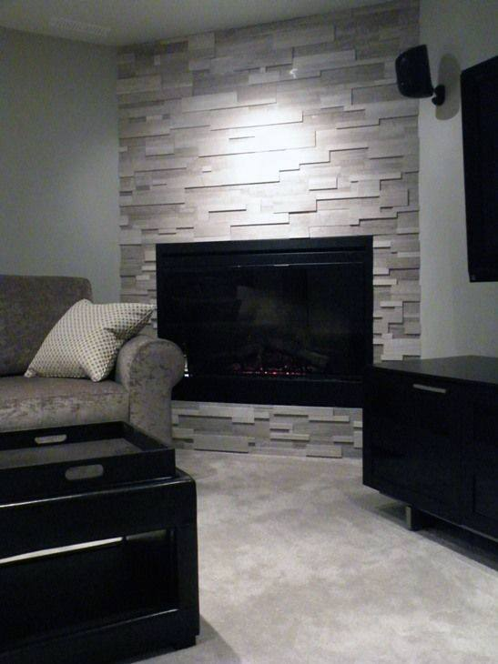 Luxury Corner Fireplace Designs