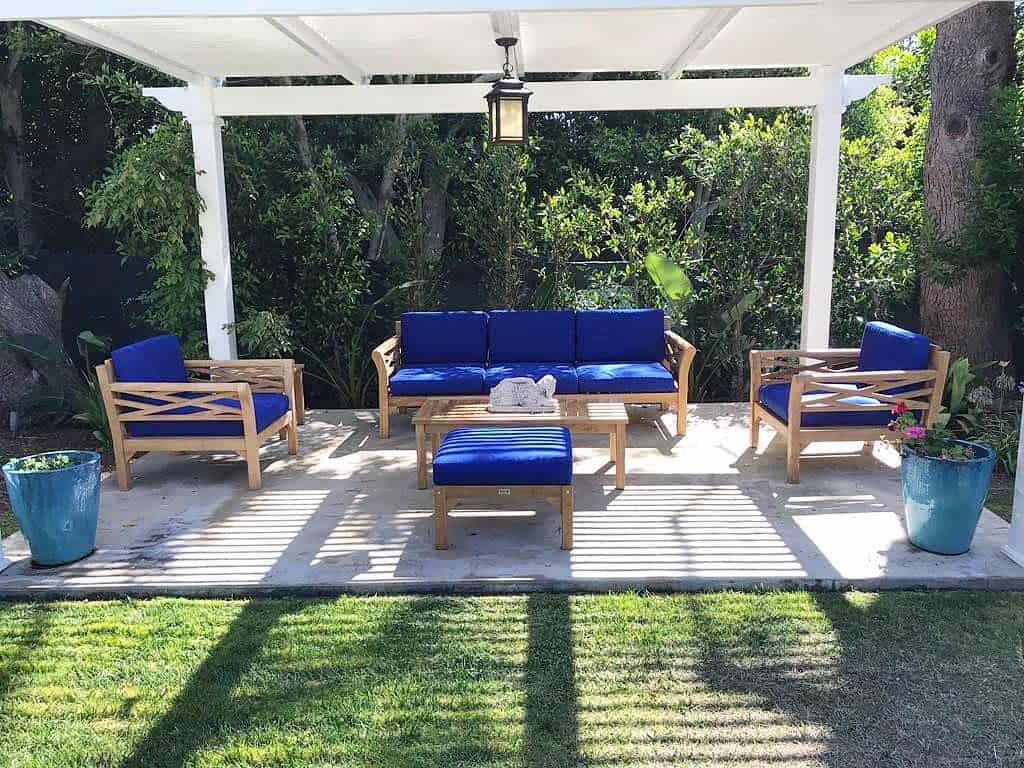 luxury covered patio ideas iksun_teak