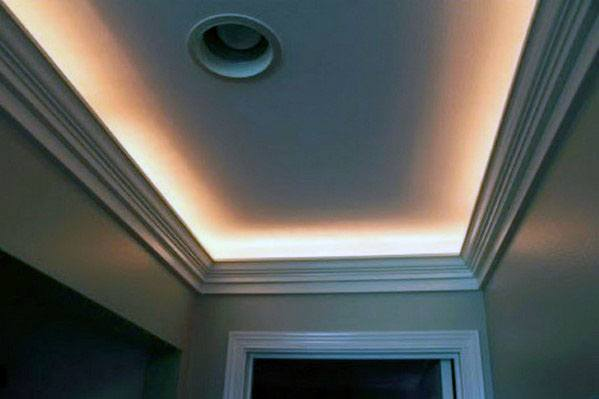 Luxury Crown Molding Lighting For Hallway