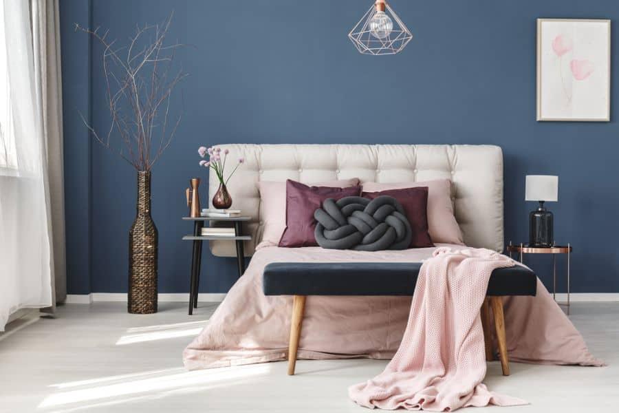 Luxury Dark Color Bedroom Paint Colors 13