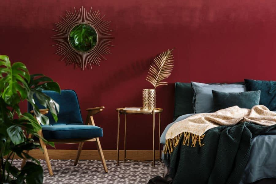 Luxury Dark Color Bedroom Paint Colors 2