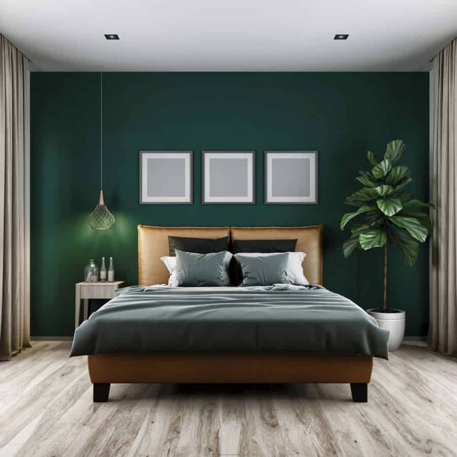 Luxury Dark Color Bedroom Paint Colors 6