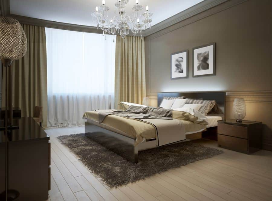 Luxury Dark Color Bedroom Paint Colors 7