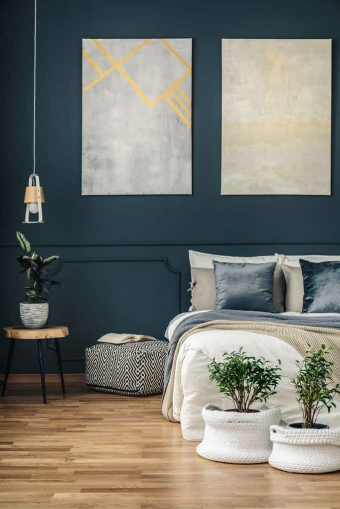 Luxury Dark Color Bedroom Paint Colors 8