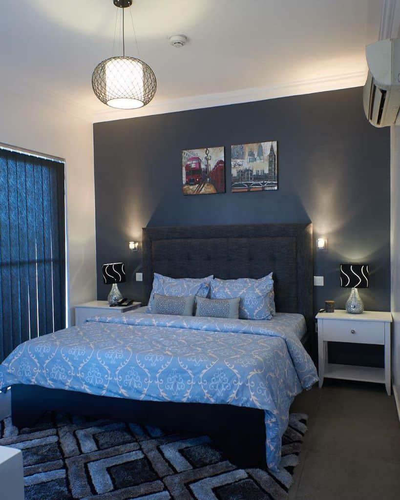 Luxury Dark Color Bedroom Paint Colors Ayabaliving