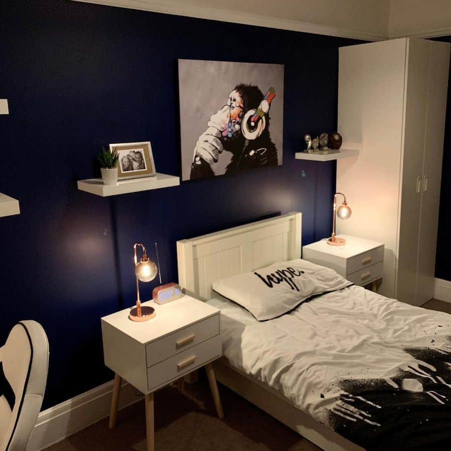 Luxury Dark Color Bedroom Paint Colors Excentr1ck