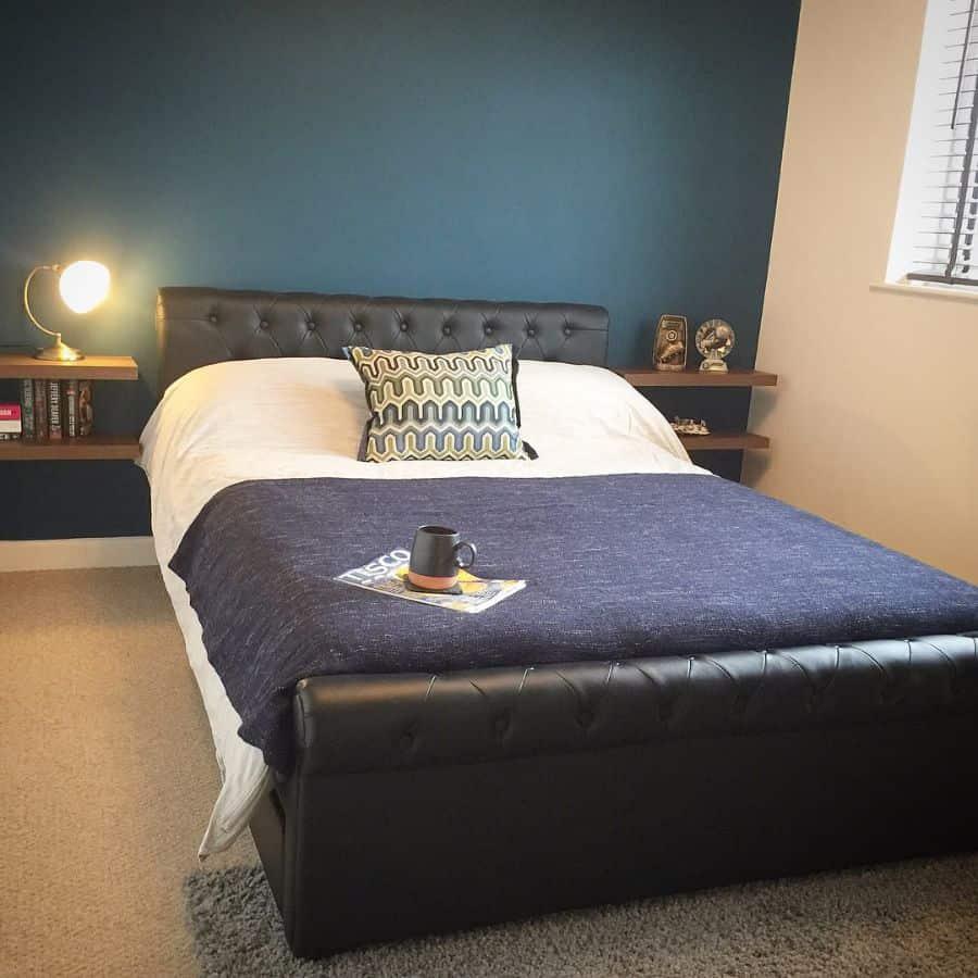 Luxury Dark Color Bedroom Paint Colors Simoes.interiors