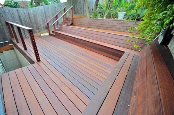 Luxury Deck Bench Ideas