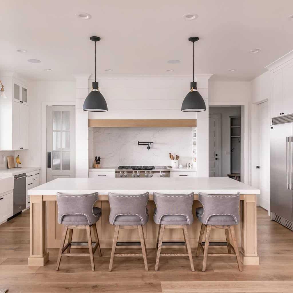 luxury farmhouse kitchen ideas millhavenhomes