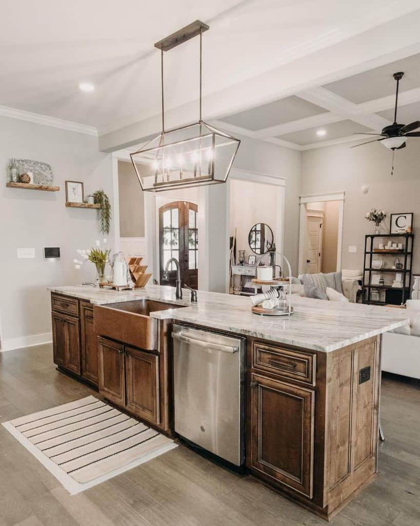luxury farmhouse kitchen ideas pamelacarlisledesign