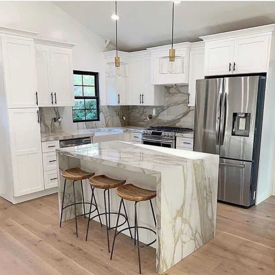 luxury farmhouse kitchen ideas white.chicory.home