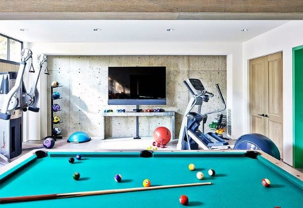 Luxury Finished Basement Ideas