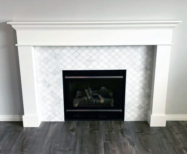 Luxury Fireplace Tile Ideas
