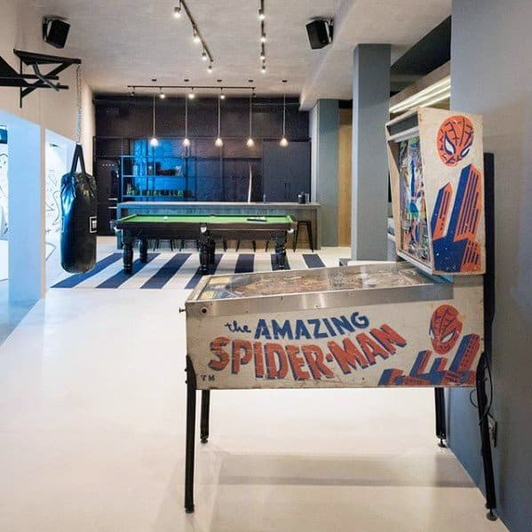 Basement Decorating Ideas For Men: 50 Gaming Man Cave Design Ideas For Men