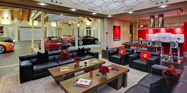 Luxury Garage Bar Ideas