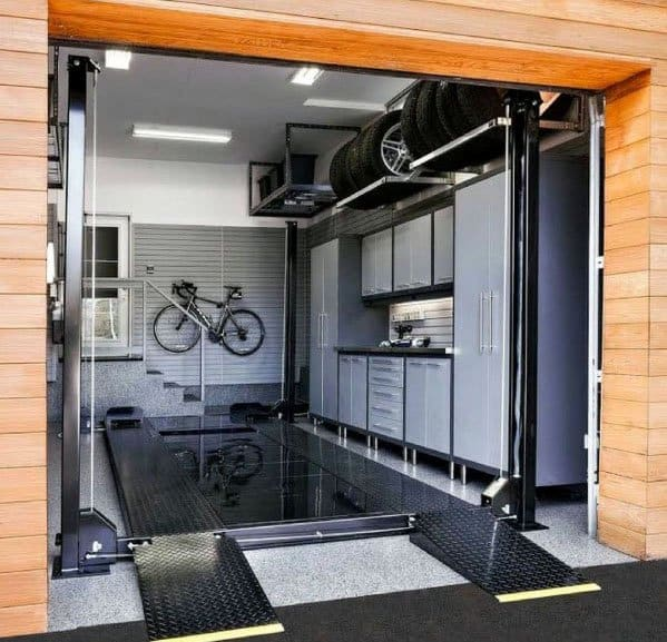Luxury Garage Cabinet Ideas