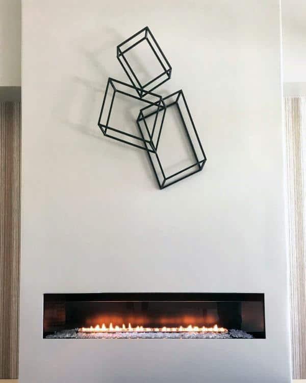 Luxury Gas Fireplace Design