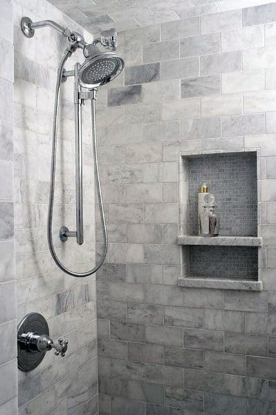 Luxury Grey Bathroom Tile Shower Ideas